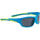 Alpina Flexxy Youth Glasses blue matt-lime